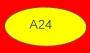 ETICHETTA A24 dim 35x18 mm