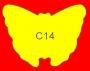 ETICHETTA C14 dim 45x35 mm