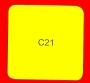 ETICHETTA C21 dim 45x45 mm