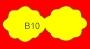 ETICHETTA B10 dim 51x22 mm