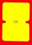 ETICHETTA D09 dim 63X45 mm