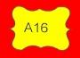 ETICHETTA A16 dim 25x18 mm