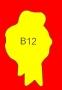ETICHETTA B12 dim 43x28 mm