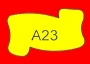 ETICHETTA A23 dim 28x20 mm