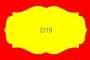 ETICHETTA D19 dim 66X38 mm