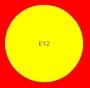 ETICHETTA E12 dim 66X66 mm