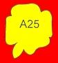 ETICHETTA A25 dim 28x22 mm
