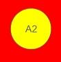 ETICHETTA A02 dim 22x22 mm