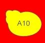 ETICHETTA A10 dim 28x18 mm