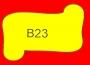 ETICHETTA B23 dim 26x36 mm