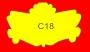 ETICHETTA C18 dim 47x28 mm