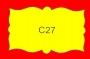ETICHETTA C27 dim 45x28 mm