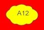 ETICHETTA A12 dim 25x12 mm