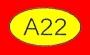 ETICHETTA A22 dim 09x16 mm