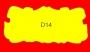 ETICHETTA D14 dim 72X33 mm