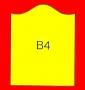 ETICHETTA B04 dim 36x29 mm
