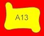 ETICHETTA A13 dim 24x24 mm