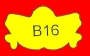 ETICHETTA B16 dim 28x16 mm