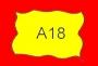 ETICHETTA A18 dim 22x15 mm