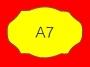 ETICHETTA A07 dim 21x18 mm